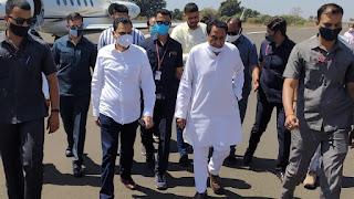 पूर्व मुख्यमंत्री कमलनाथ एवं सांसद नकुलनाथ 4 दिवसीय दौरे पर छिंदवाड़ा पहुंचे