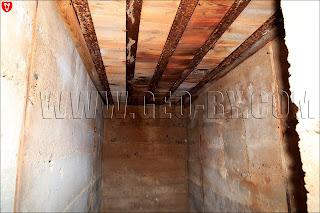 Внутри пятого немецкого бункера