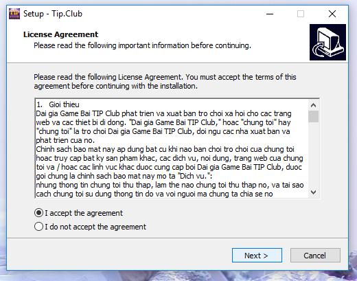 hướng dẫn tải app tip club trên máy tính
