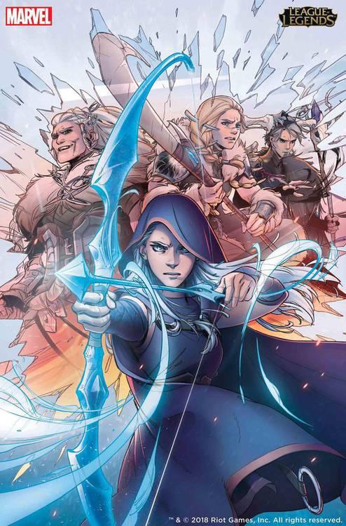 League of Legends - Marvel Comics