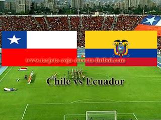 Chile vs Ecuador Clasififcatorais Sudamericanas