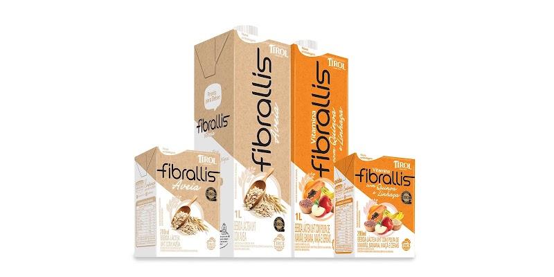 Fibrallis, bebida láctea da Lacticínios Tirol, chega ao ponto de venda totalmente renovada e atende consumidor que busca opções mais saudáveis e práticas em seu dia a dia