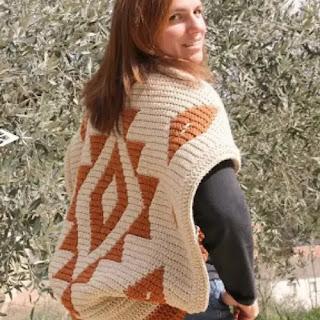 Chaqueta Gea a Crochet