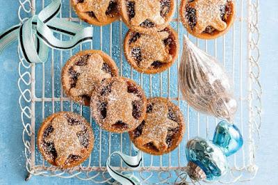 Ginger shortbread fruit mince tarts desserts recipes
