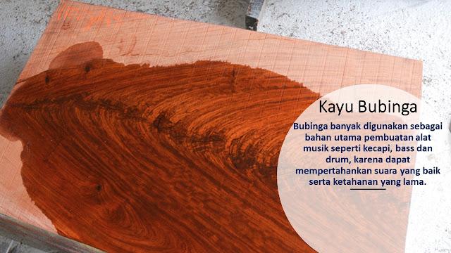 Teksture Kayu Bubinga
