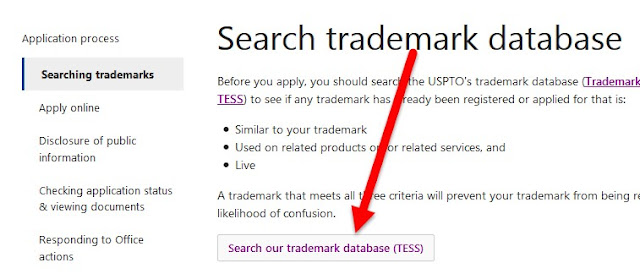 search trademarks