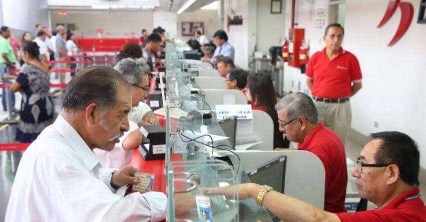 Banco de la Nación atenderá en horario especial pago a pensionistas de la Ley 19990 - ONP