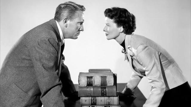 Imagen de 'La Costilla de Adán (George Cukor, 1949)' - El matrimonio de abogados interpretado por Katharine Hepburn y Spencer Tracy