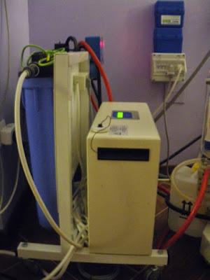 depuradora de máquina de hemodiálsis y descalcificadora