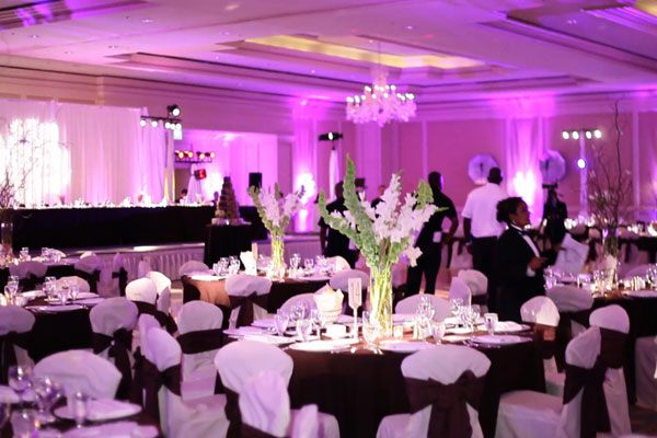indian wedding mandaps chuppahs backdrops draping in saint louis bay area uplighting wedding