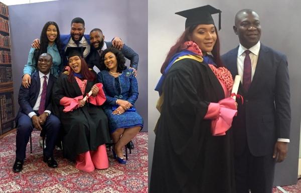 Senator Ike Ekweremadu's daughter graduates from foreign University - See photos
