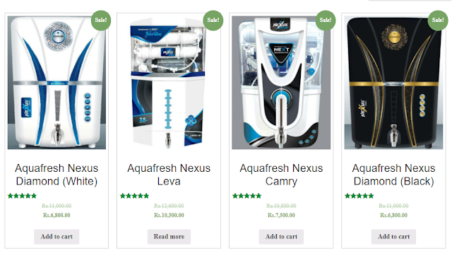 Several Options at your door step in Aquafresh Nexus