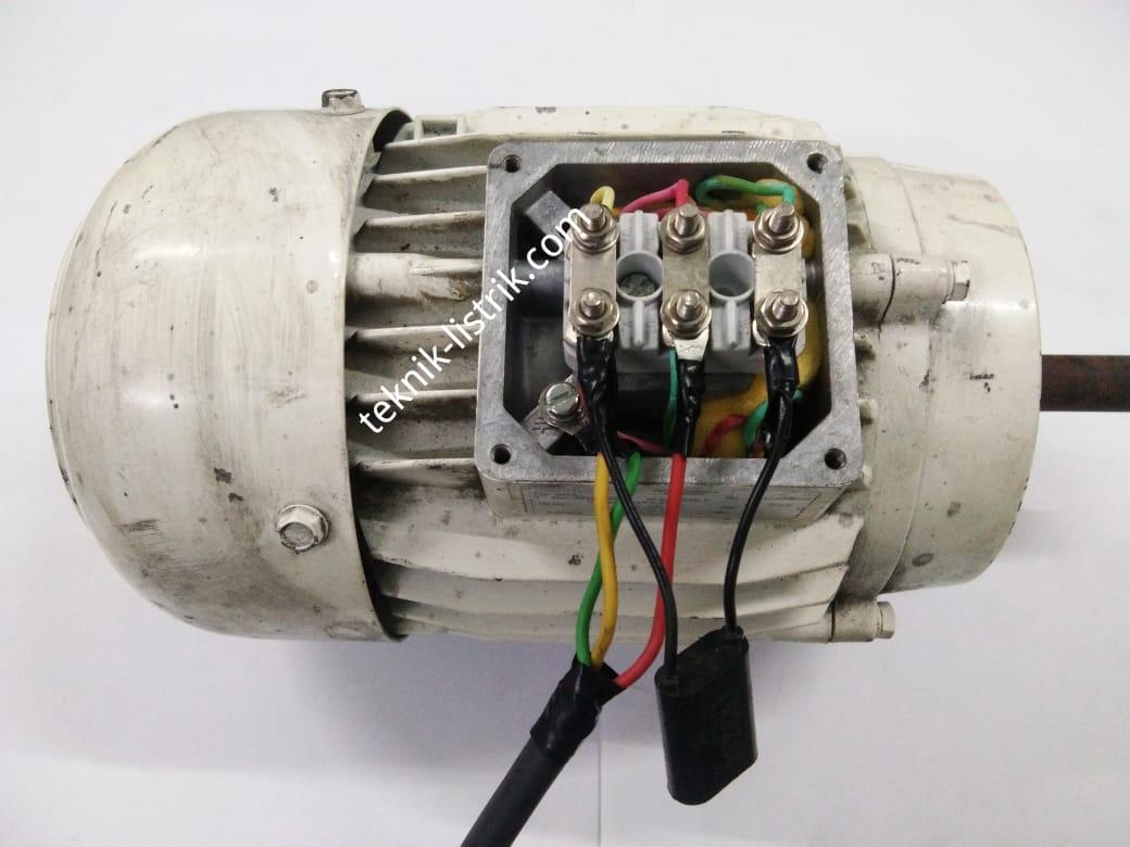 wiring motor 3 phase menjadi 1 phase