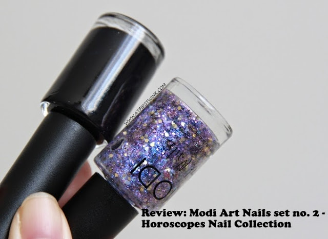 Review: Modi Art Nails set no. 2 - Horoscopes Nail Collection