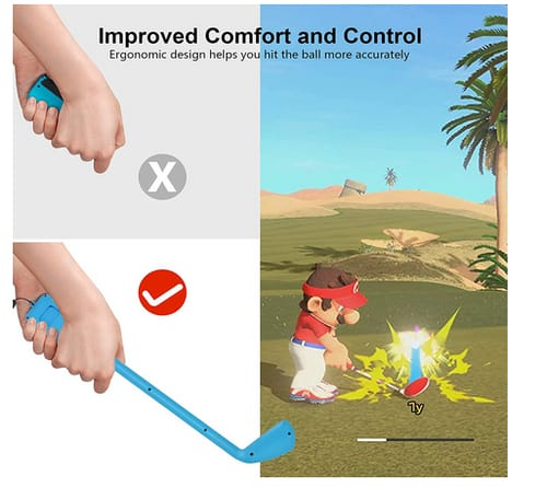 DLseego Game Mario Golf Super Rush Switch Controller