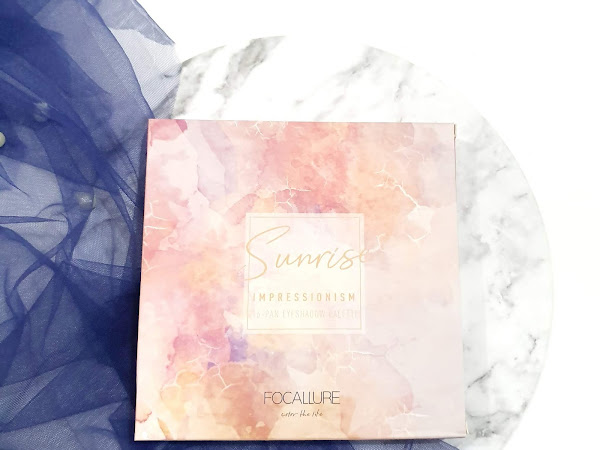 [Review] Focallure Sunrise Impressionism Eyeshadow Palette