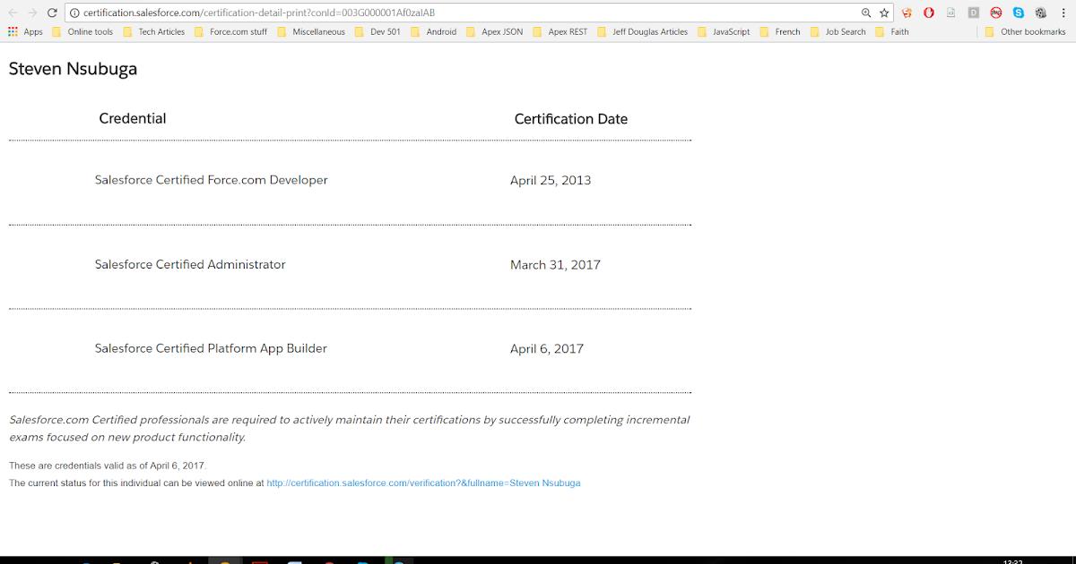 Force Ninja In Uganda Passing The Salesforce Certified App
