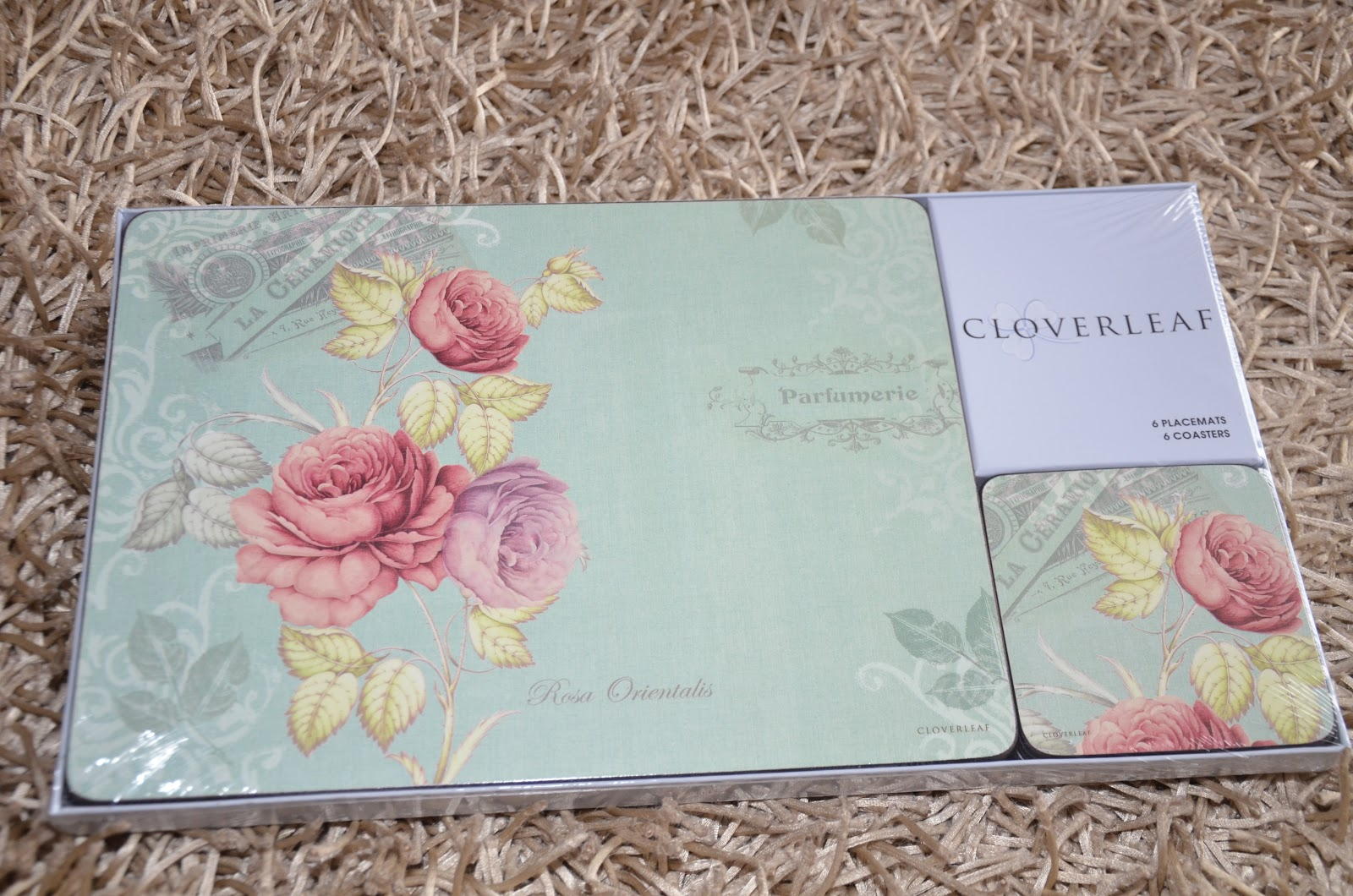 Kitch N Chic Cloverleaf 6x Placemats Amp Coasters