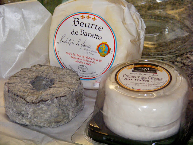 Cheese and butter, France. Photo by Loire Valley Time Travel.