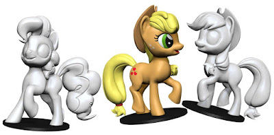 My Little Pony Unpainted Miniatures by WizKids Coming Soon