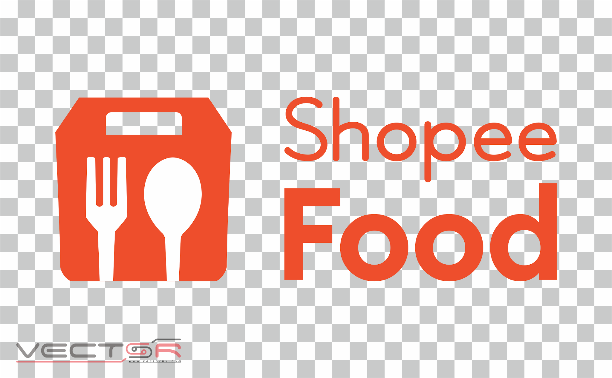 Shopee Food Logo - Download Vector File PNG (Portable Network Graphics)