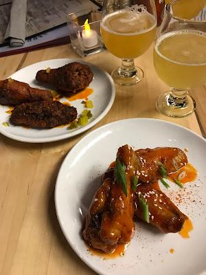 Harry's Wing & Beer Dinner