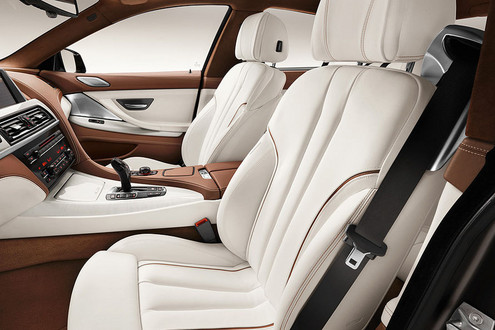 BMW 6-Series Gran Coupe interior view