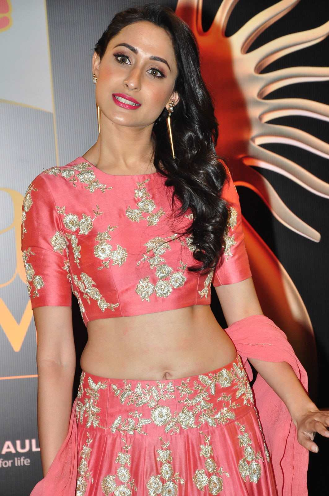 Pragya Jaiswal Hot Photos At IIFA Utsavam Awards