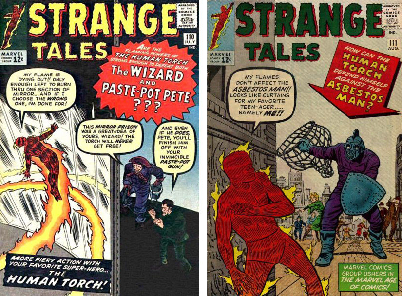 Marvel in the Silver Age: Strange Tales: The Human Torch