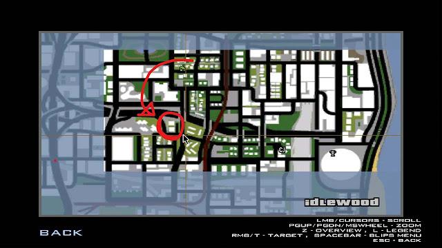 Jika dilihat dari atas (maps)
