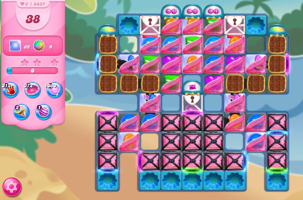 Candy Crush Saga level 8837
