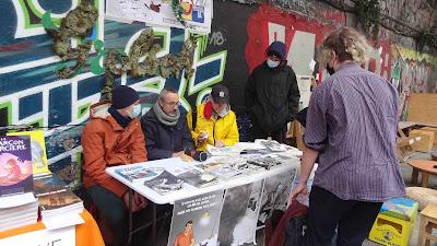 Atelier54 au Hasard Ludique pour le festival BD6né