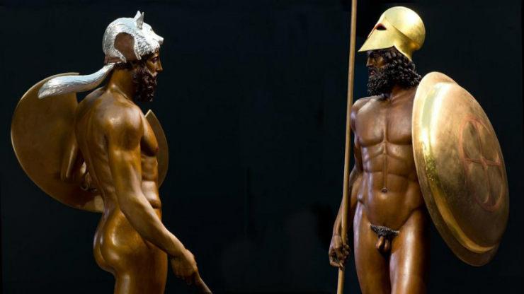 Τα αρχαία αγάλματα δεν ήταν λευκά