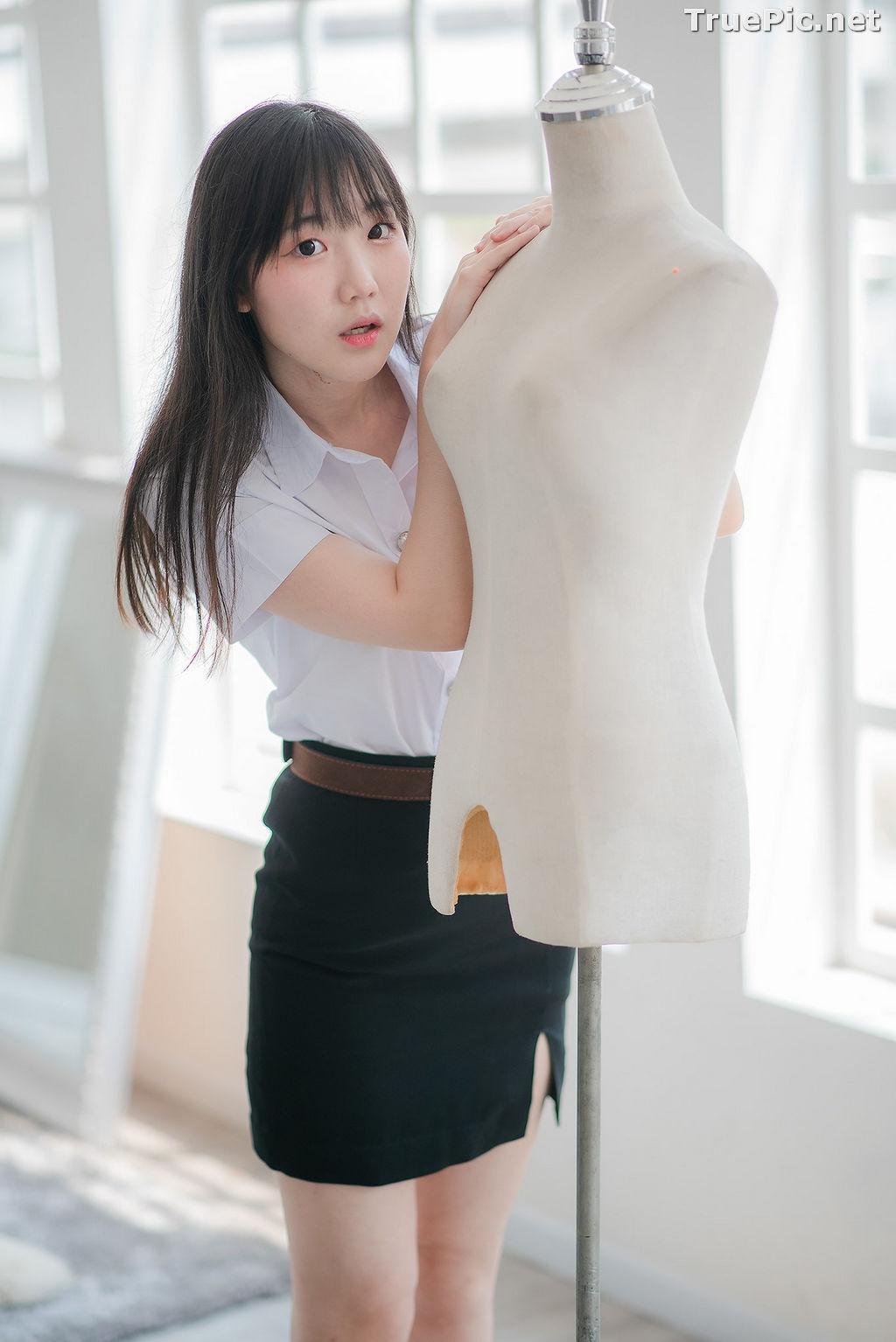 Image Thailand Model - Miki Ariyathanakit - Cute Student Girl - TruePic.net - Picture-8