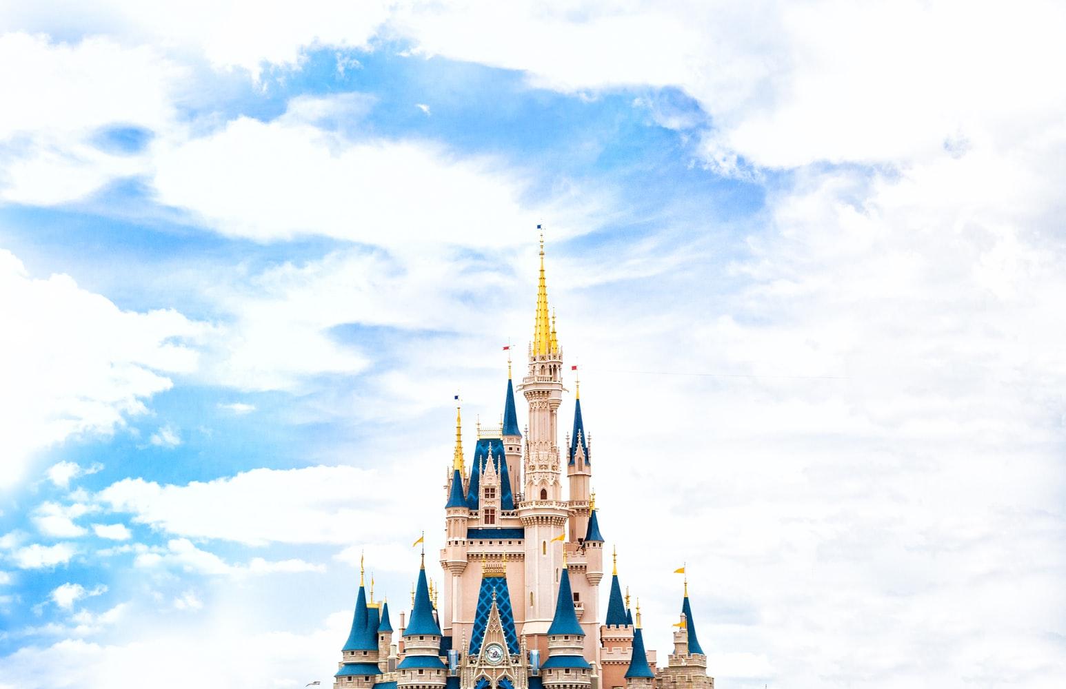 Cinderella's Castle at Walt Disney World in Orlando