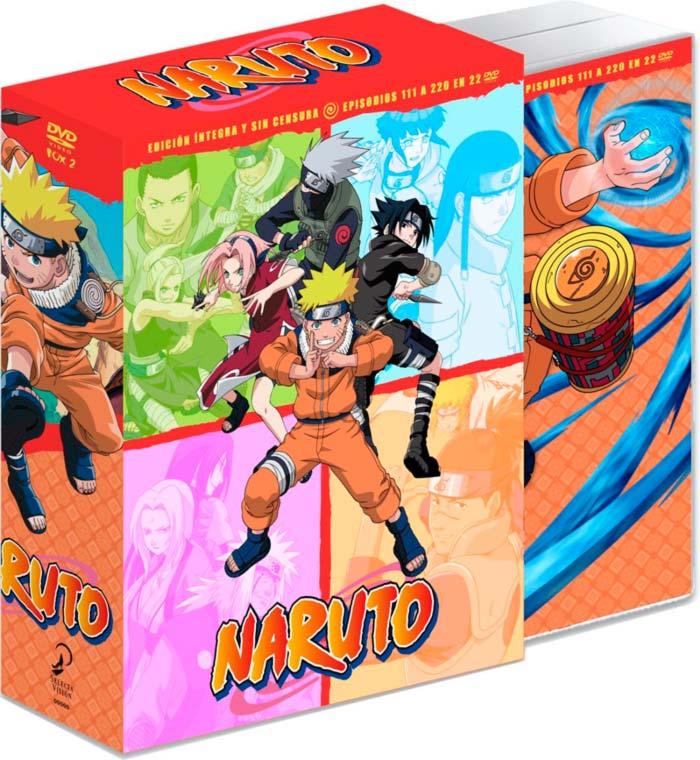 Naruto: La serie completa DVD Box 2 - Selecta Visión