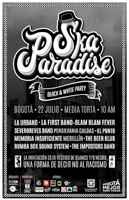SKA PARADISE: BLACK & WHITE PARTY