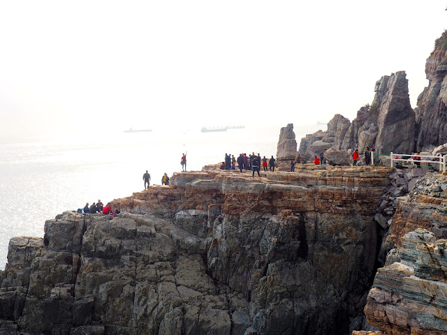 Sinseon Rock, Taejongdae Park, Busan, South Korea