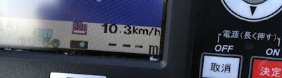 ポータボート ホンダ2.3馬力船外機での速度