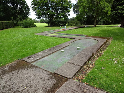 Crazy Golf course at Higher Bebington Recreation Ground on the Wirral