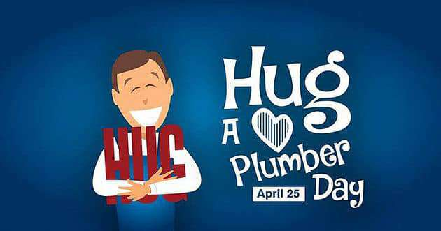 National Hug a Plumber Day Wishes Images download