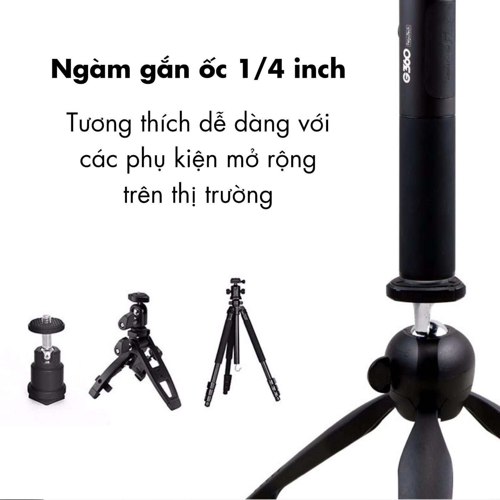 Gimbal chống rung camera 360 độ FeiyuTech G360