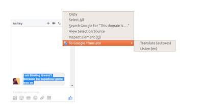 إضافة ترجمة جوجل في فايرفوكس