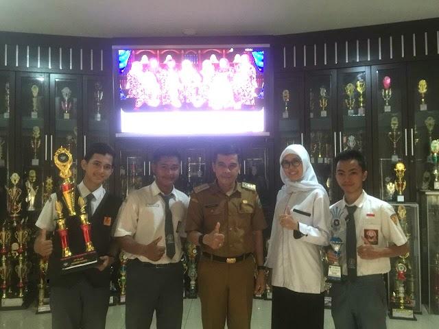SMK Negeri 2 Palembang Sabet Dua Piala Perhargaan Dalam Ajang Modern Dance Competition