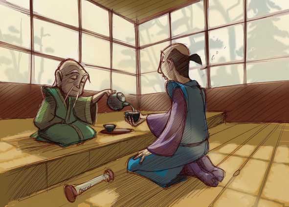 Zen en una taza de té
