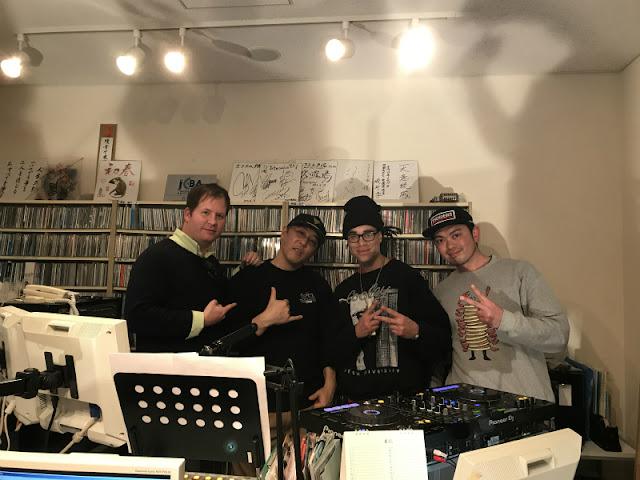 戸塚FMにて。DJ-Joey Slick,The 49ers,DJ-YASU