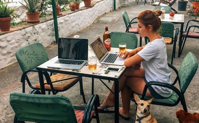 Trabalhar na Internet de Qualquer Lugar