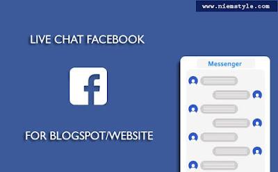 Tạo live chat facebook cho blogspot mới nhất