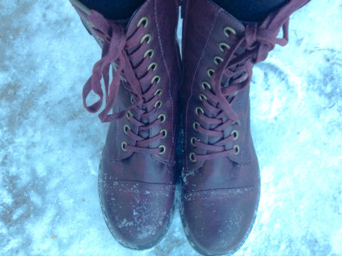 Snowy Boots