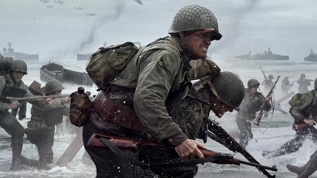 The first images from Call of Duty: Vanguard have appeared